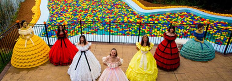 Lego Pool at Legoland Florida