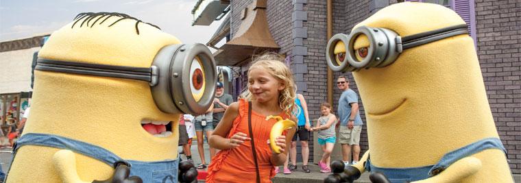 Meet Minions at Universal Orlando