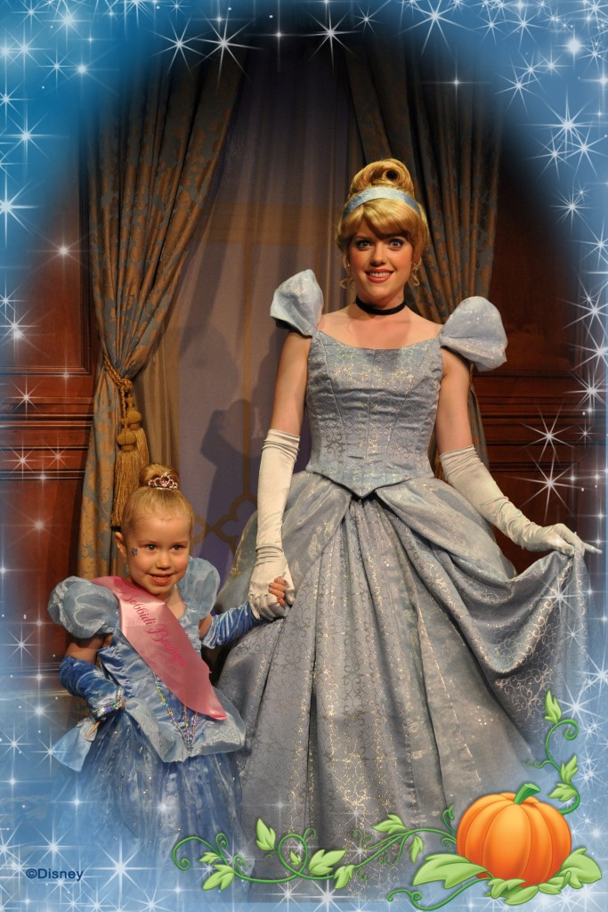 Meet Cinderella at Disney World