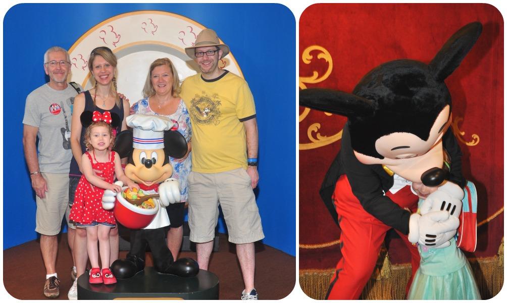 Chef Mickey photo & Meeting Mickey