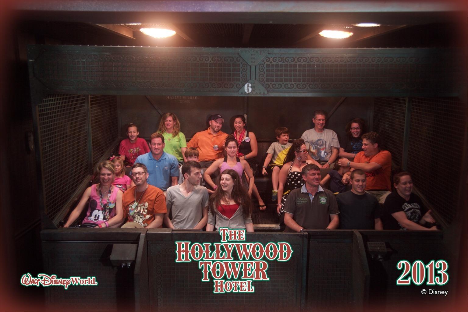 Tower of Terror Ride Photo