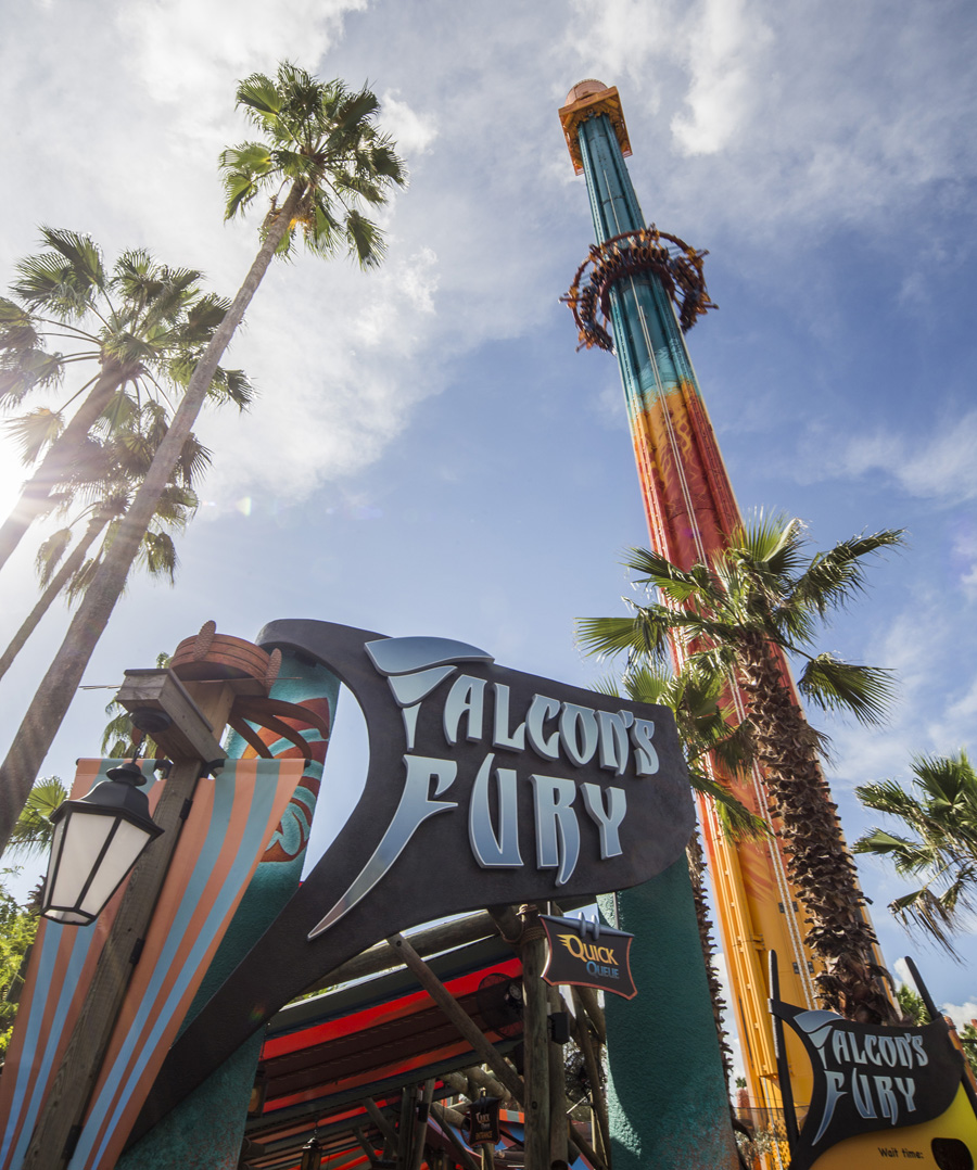 Best Rides at Busch Gardens - Falcon's Fury