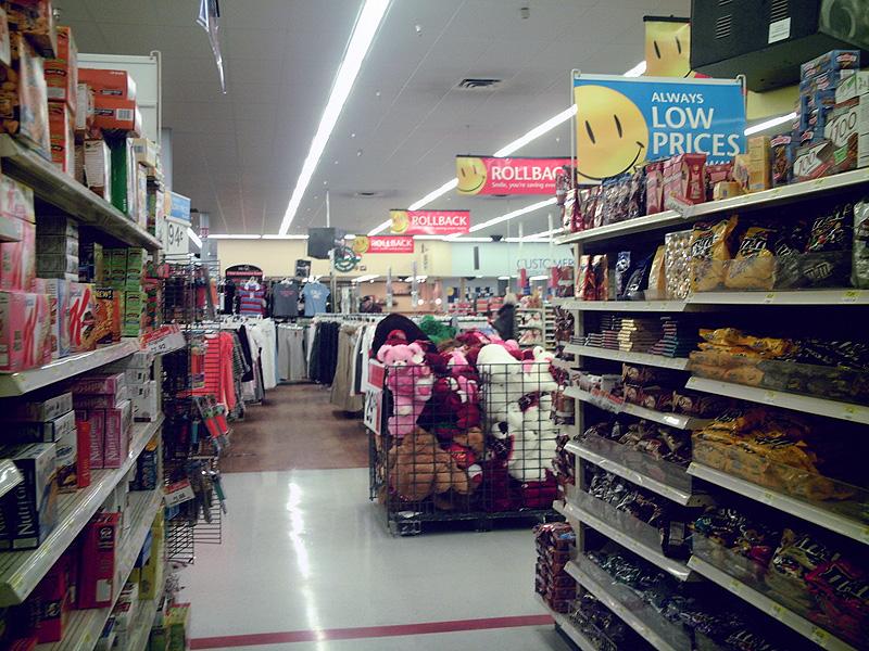 Sweets & toys at Walmart