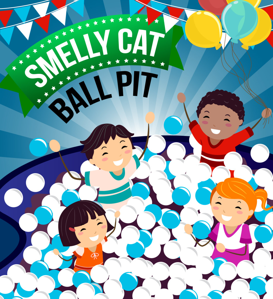 Smelly Cat Ball Pit