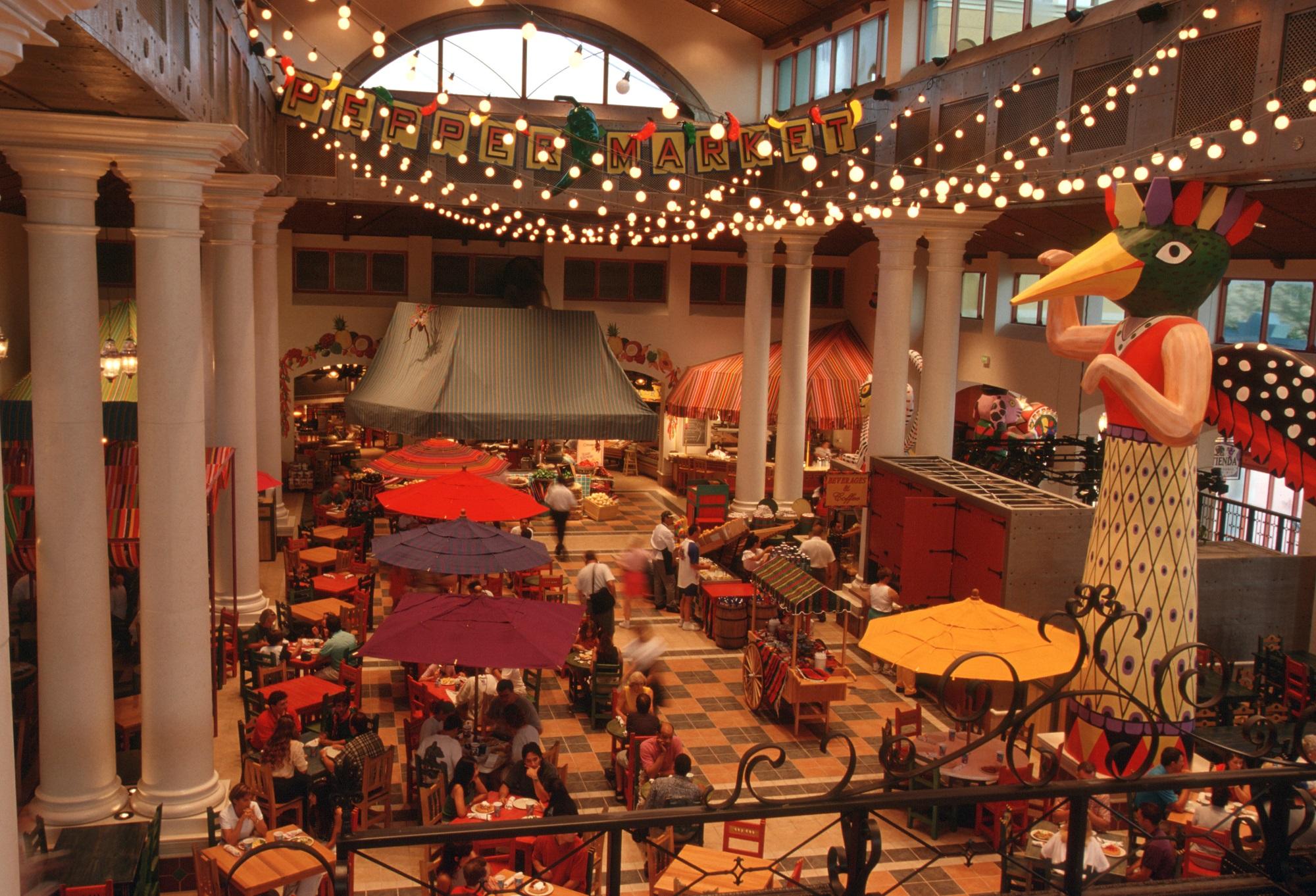 Pepper Market Food Court at Disney's Coronado Springs Resort
