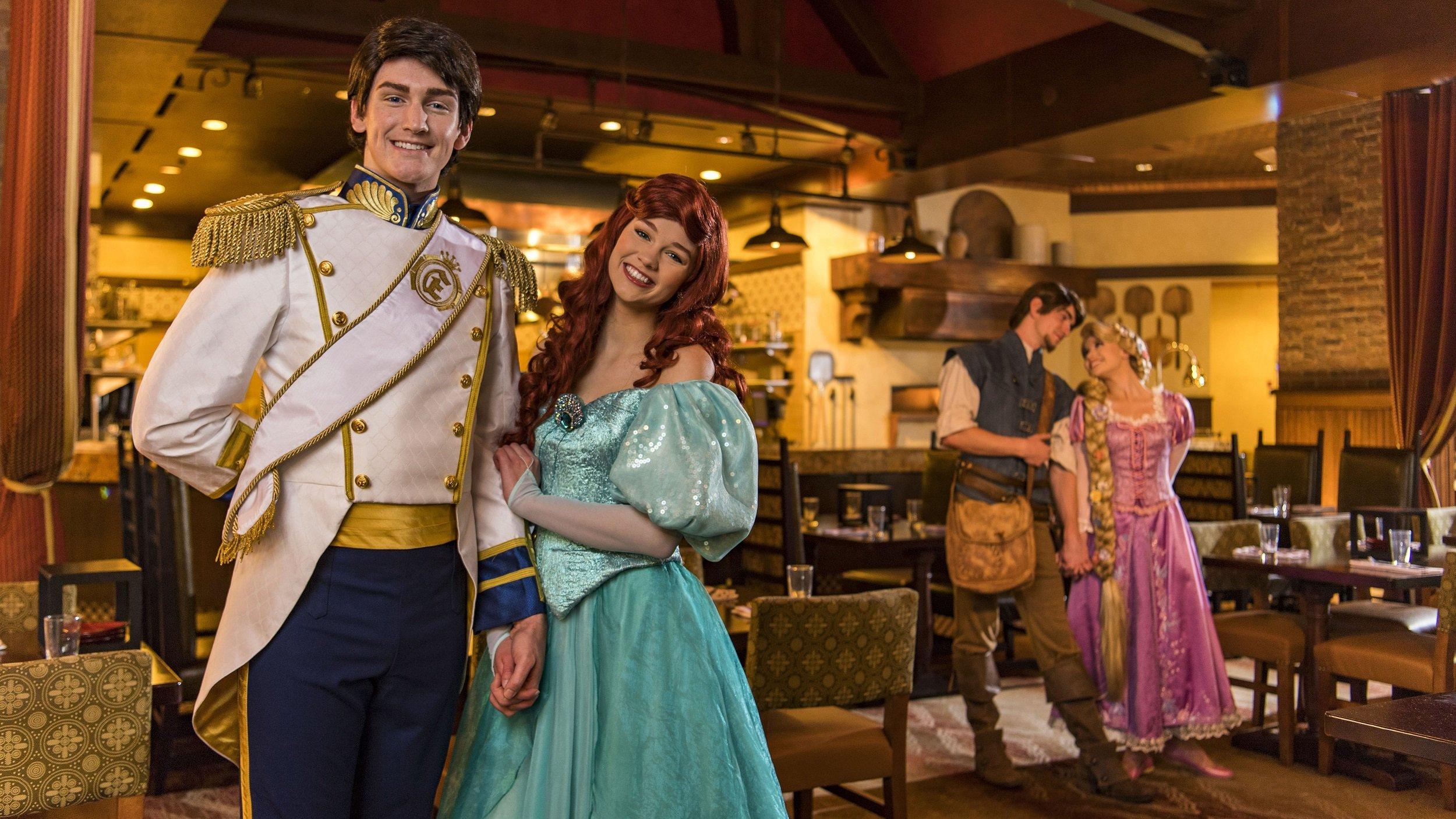 Disney World Trattoria Cast Members