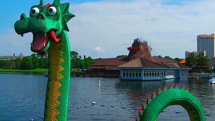 Lego Loch Ness