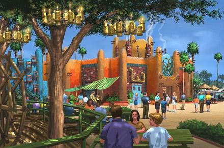 Busch Gardens Announce a New Reimagined Land - Pantopia