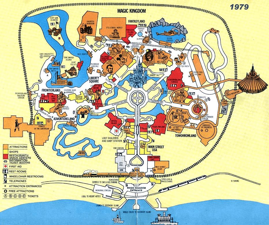 Walt Disney World Maps FloridaTix