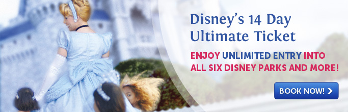 Disney 14 day Ultimate Ticket