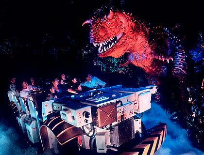 Dinoland ride
