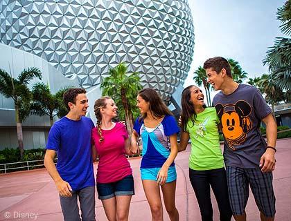 Epcot at Walt Disney World Florida