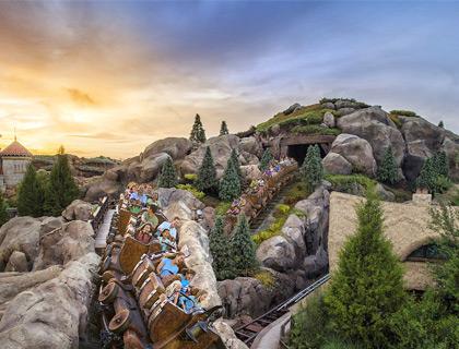 Fantasyland-Dumbo ride