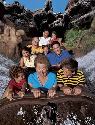 Frontierland - Splash Mountain