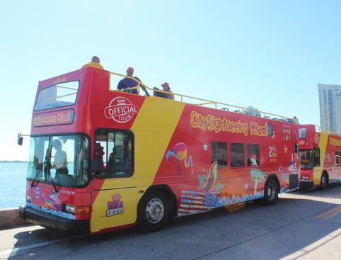 Hop On Hop Off Bus Miami