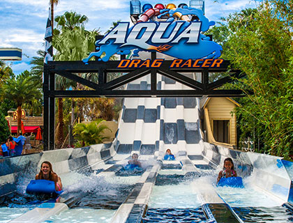 Aqua Drag Racer at Wet n' Wild Orlando