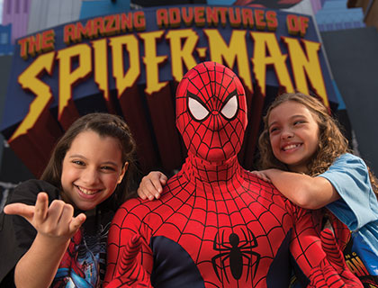 Spider-Man at Universal's Islands of Adventure
