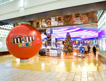 M&Ms World Store in Florida Mall