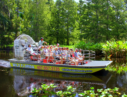 Wild Florida - Everglades Wildlife Park and Airboat Rides