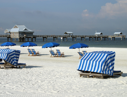 Relax on the Beautiful Clearwater Beach