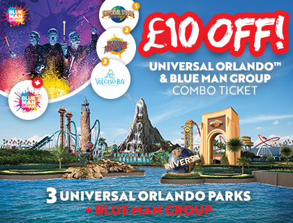 Universal Orlando and Blue Man Group Combo Offer