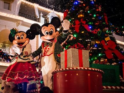 Mickey's Very Merry Christmas Party at Magic Kingdom