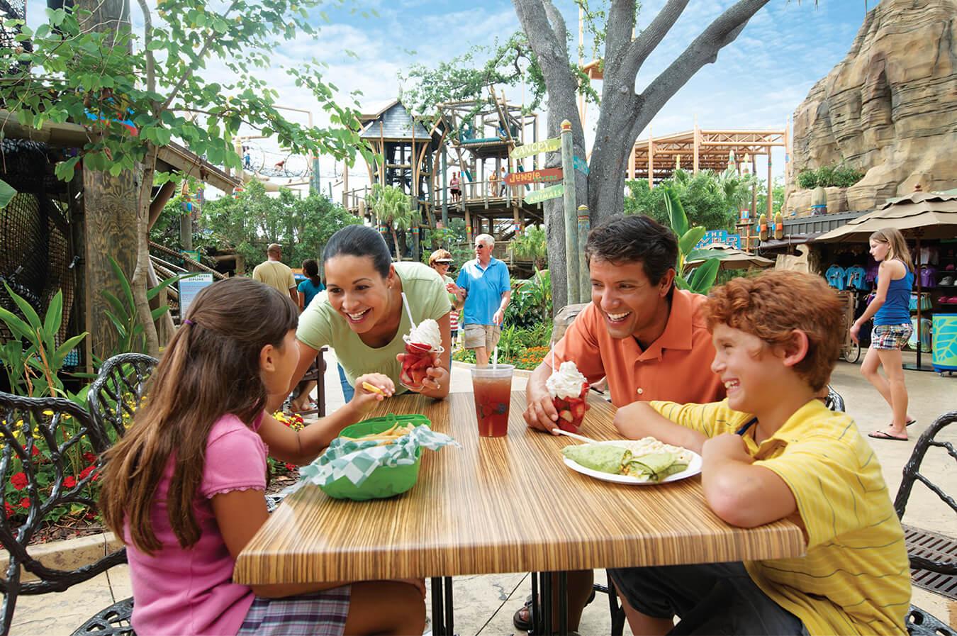Busch Gardens All Day Dining Pass