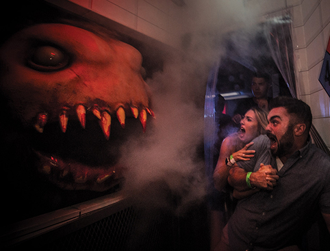 Scare house at Halloween Horror Nights Orlando