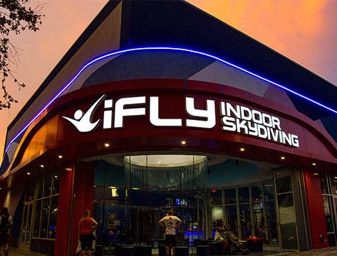 iFly Orlando skydiving