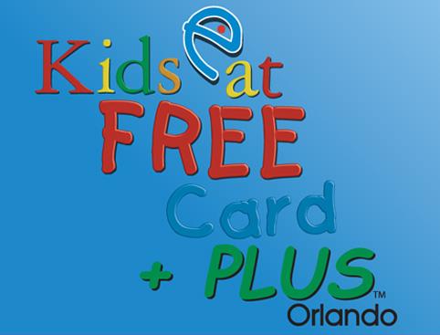 Kids Eat Free Card Orlando
