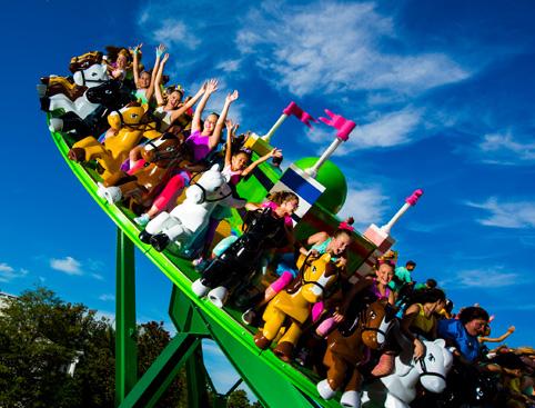 Legoland Florida Castle Hill Rollercoaster