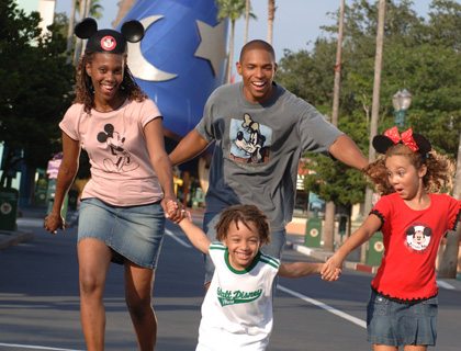 Family at Disney's Hollywood Studios