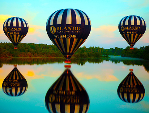 Balloon Ride Over Orlando