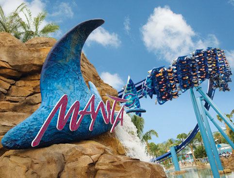 Manta Ride at SeaWorld Orlando