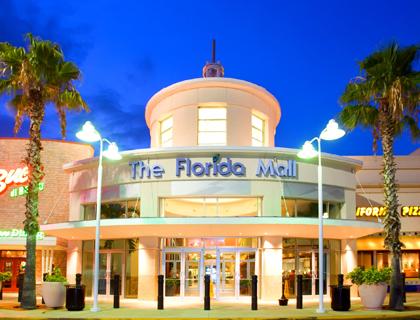 Outside the Florida Mall Orlando