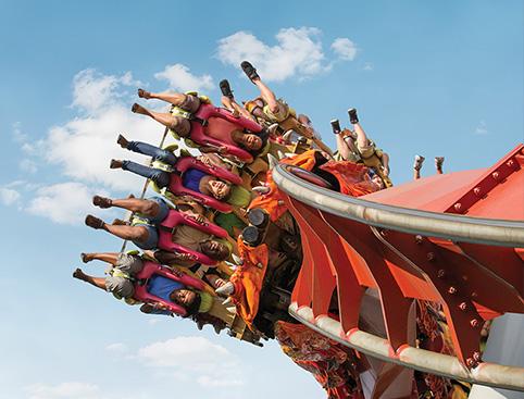 Universal Orlando Rollercoaster