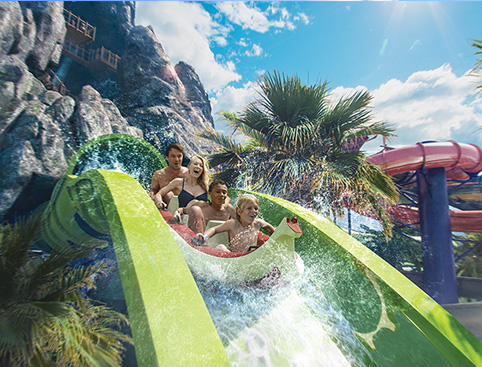 Universal's Volcano Bay Ride