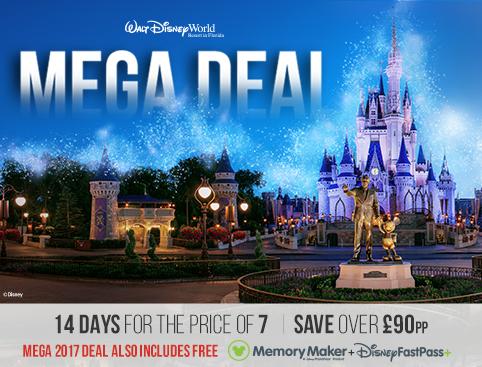 Disney Mega 2017 Deal
