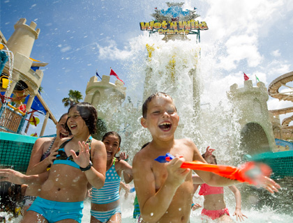 Entrance of Wet n Wild Orlando