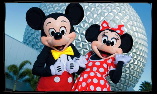 Mickey & Minnie at Epcot
