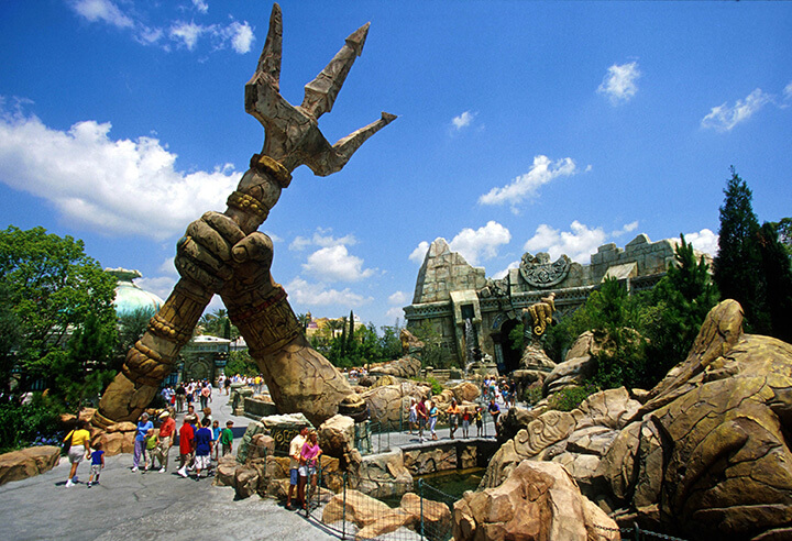 The Lost Continent at Universal Florida