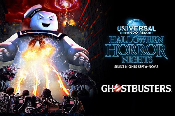 Halloween Horror Nights Ghostbusters