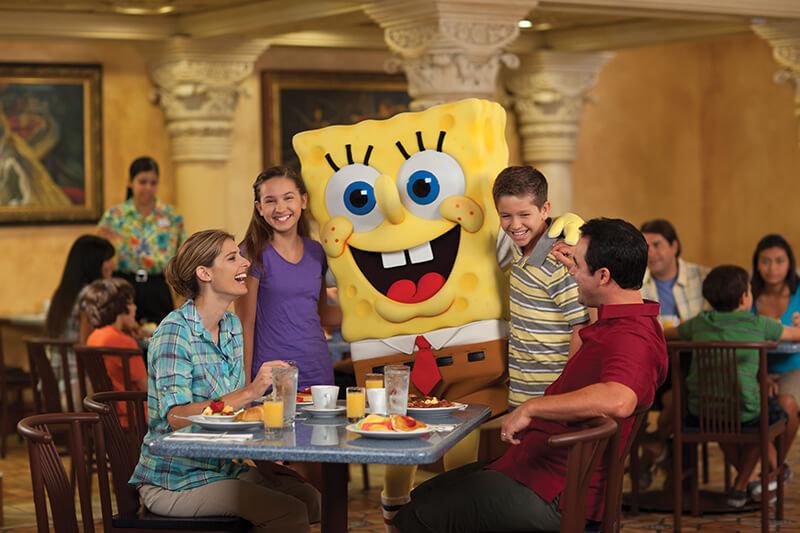 Spongebob at Universal Studios