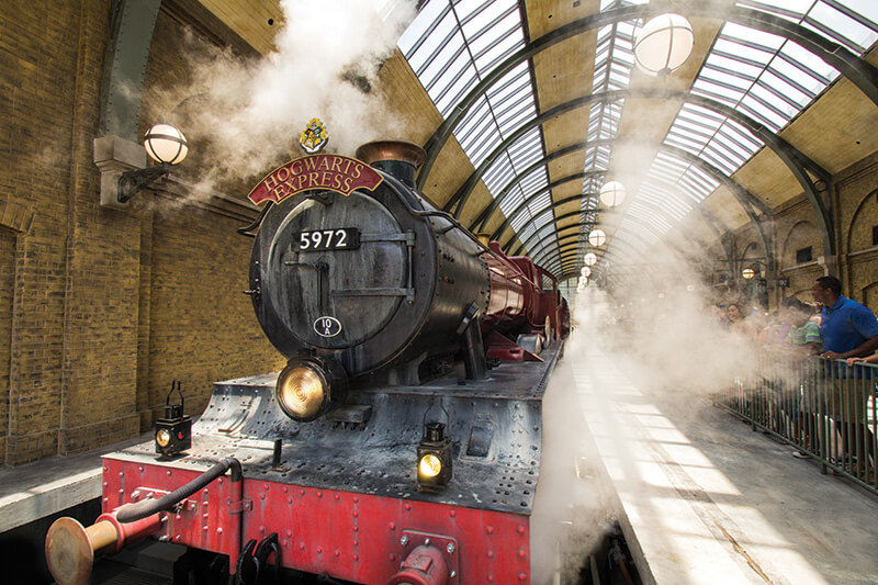 Hogwarts Express at Hogsmeade