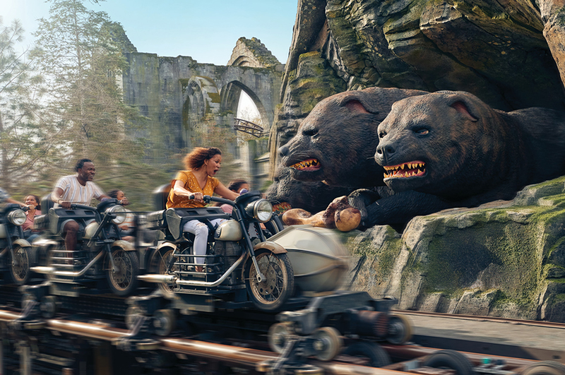 Hagrid's Magical Creatures Ride
