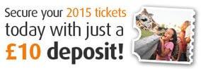 £10 Deposit per ticket