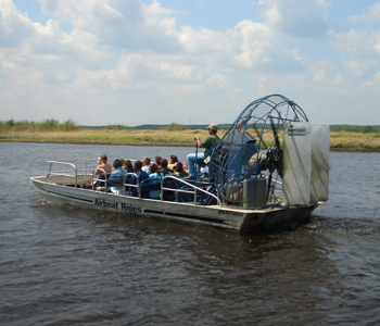 Go on an Everglades Airboat adventure