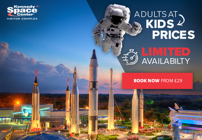 Kennedy Space Center Special Offer