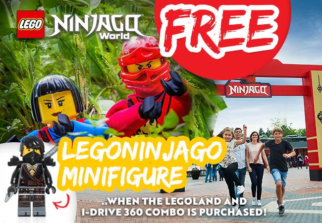 Legoland Ninjago Mini figure Offer