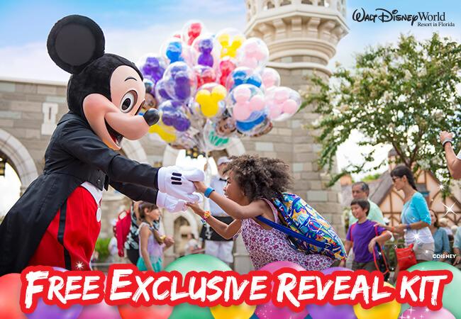 Walt Disney World Reveal Kit FloridaTix
